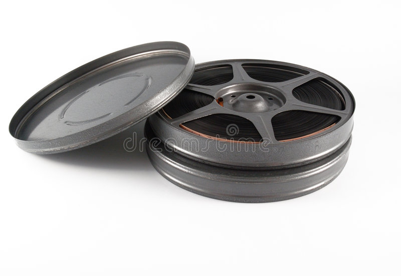 filmują pojemników 16 mm rolkę fotografia stock