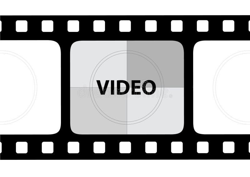 filmvektor stock illustrationer