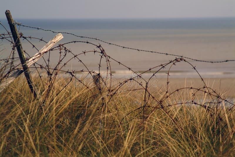 Filo dal secondo. d-day di guerra mondiale fotografie stock libere da diritti