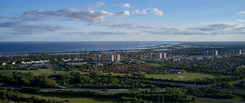 Filo di Broendby, Danimarca immagini stock