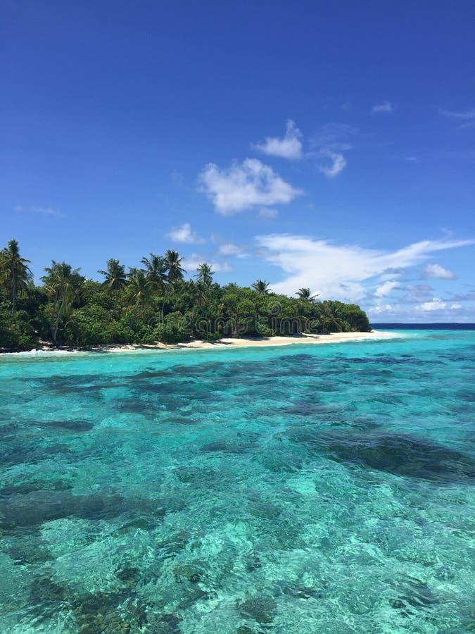 Filo di Malediven Maldive fotografia stock