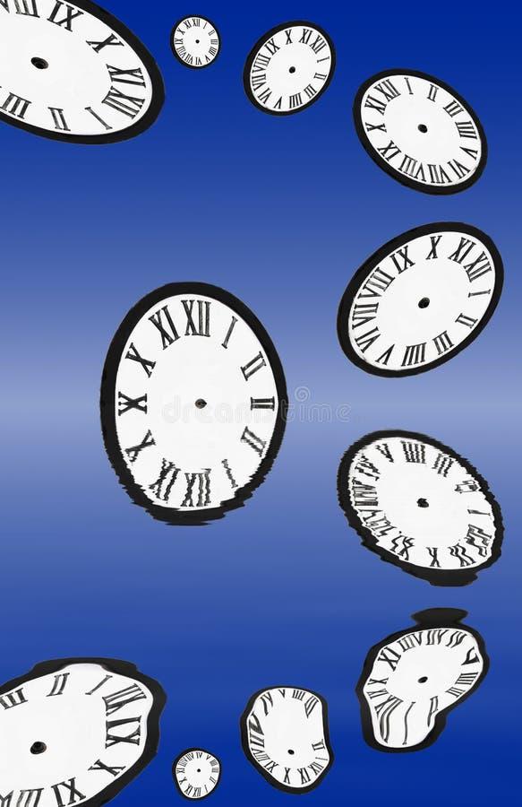 Filo di ordito di tempo illustrazione vettoriale