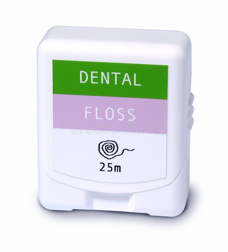 Filo per i denti immagini stock