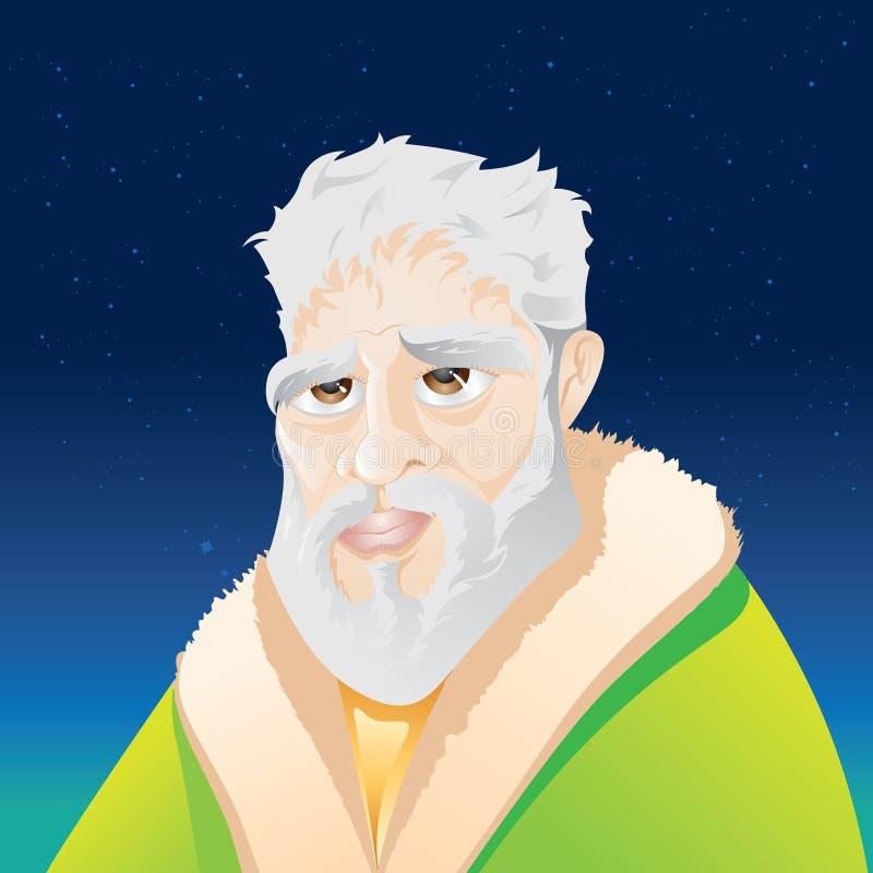 filosof royaltyfri illustrationer