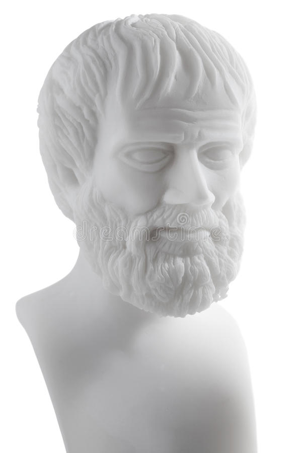 Filosofi del greco antico immagini stock