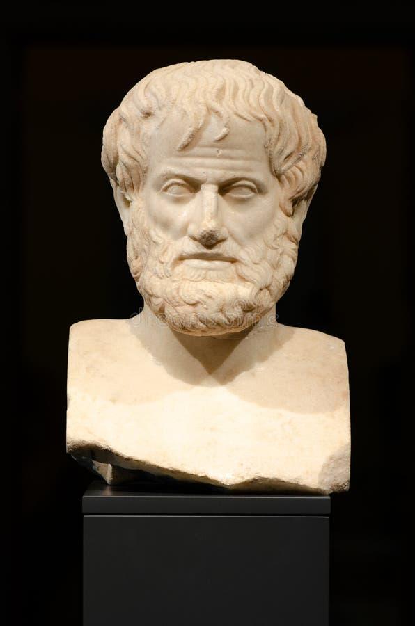 filosofia aristotle fotografie stock