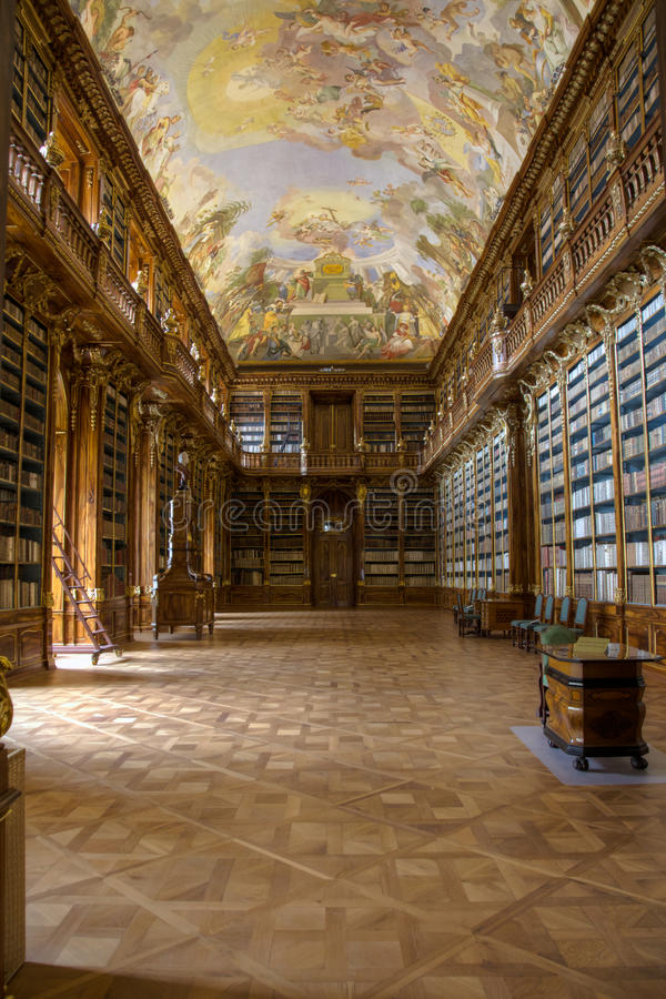 Filosofische Bibliotheek stock foto's