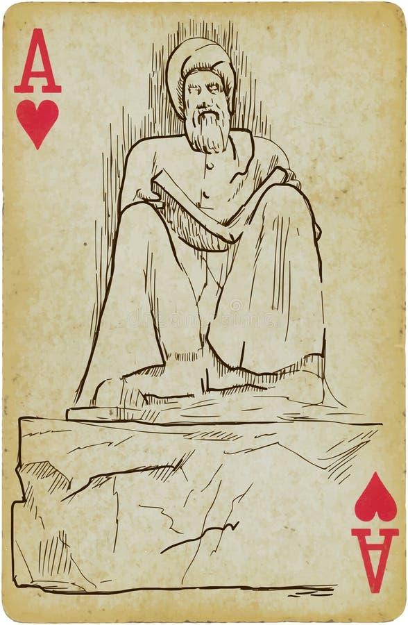 Filozof i pisarz ilustracji
