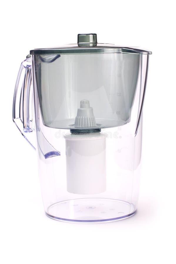 Filter för vattenbehandling arkivfoto