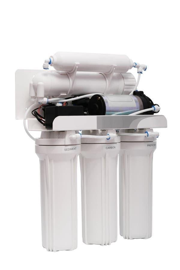 Filter für die Wasserbehandlung lizenzfreie stockbilder