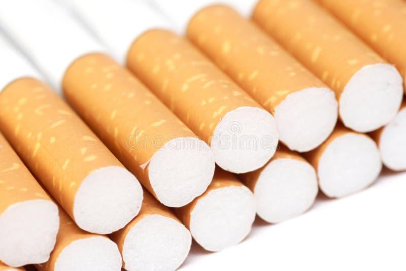 Filter getipte sigaretten royalty-vrije stock afbeeldingen