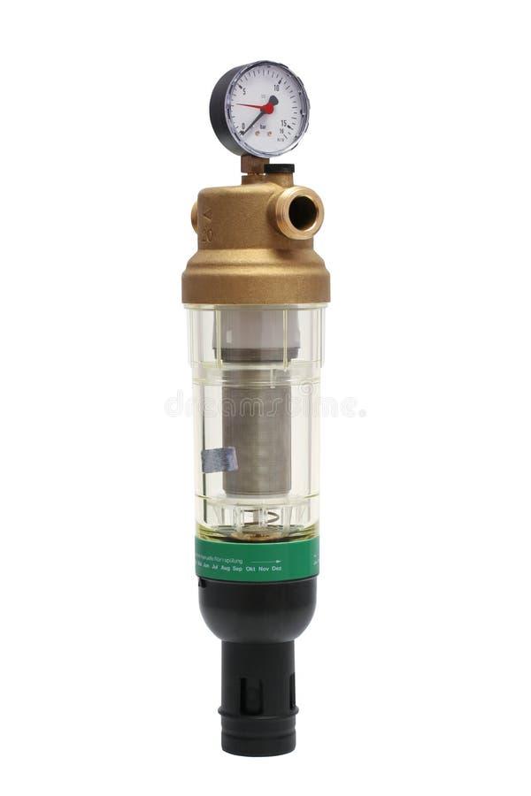 Filter met een manometer stock foto's