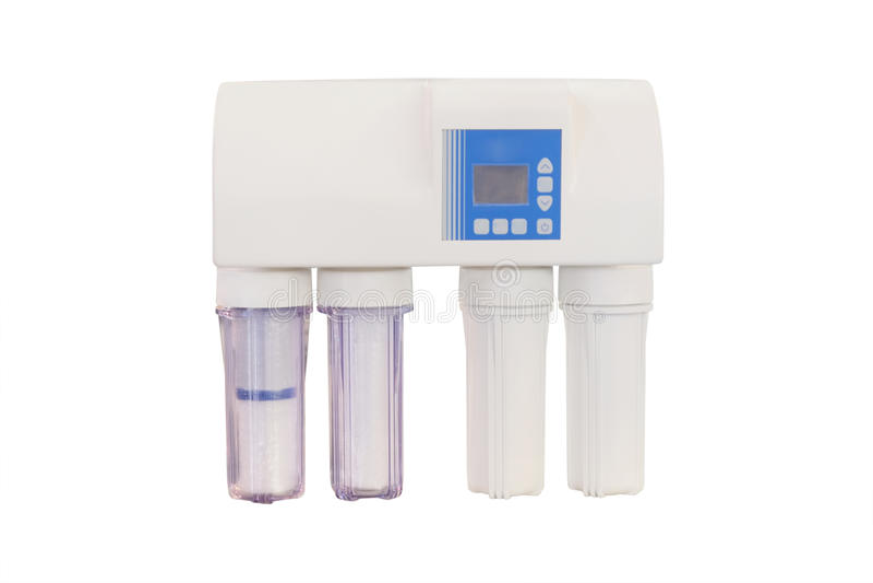Filter, zum des Trinkwassers zu reinigen stockfotos