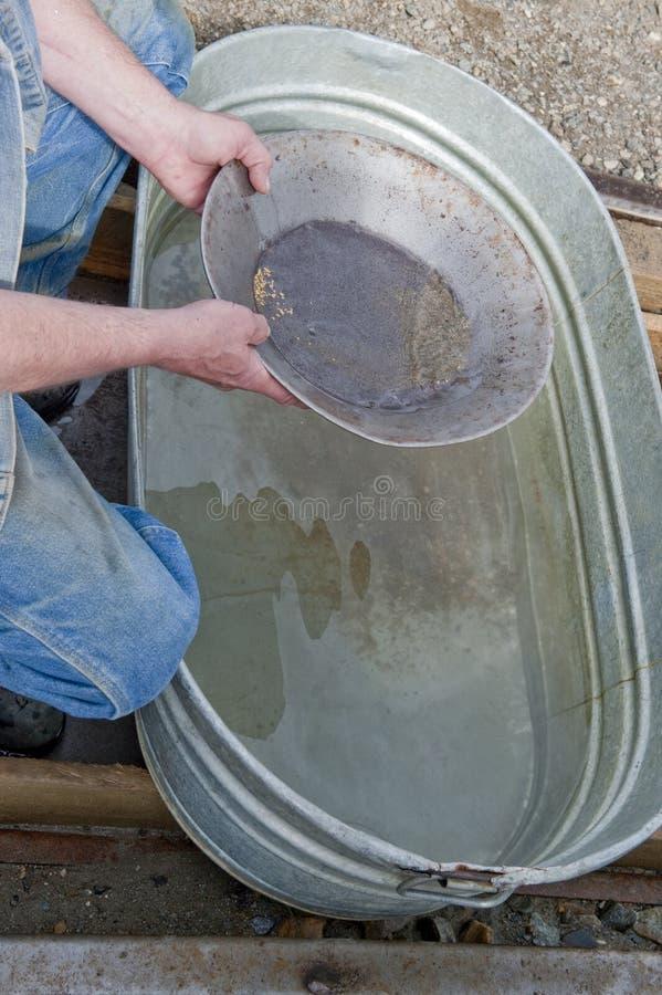 Filtração para o ouro imagem de stock
