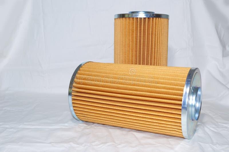 Filtration hydraulique photo libre de droits