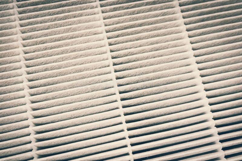Filtre à air pour le système de la CAHT - rétro style image libre de droits
