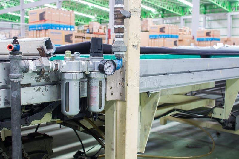 Filtre à air utilisé dans le système pneumatique image libre de droits
