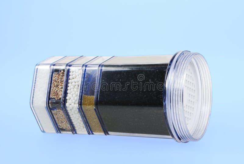Filtre de purification d'eau photographie stock libre de droits