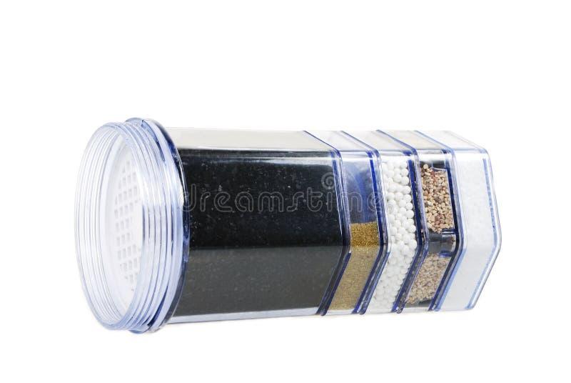 Filtre de purification d'eau photo stock