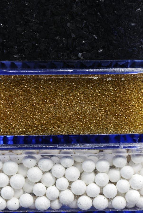 Filtre de purification d'eau photographie stock