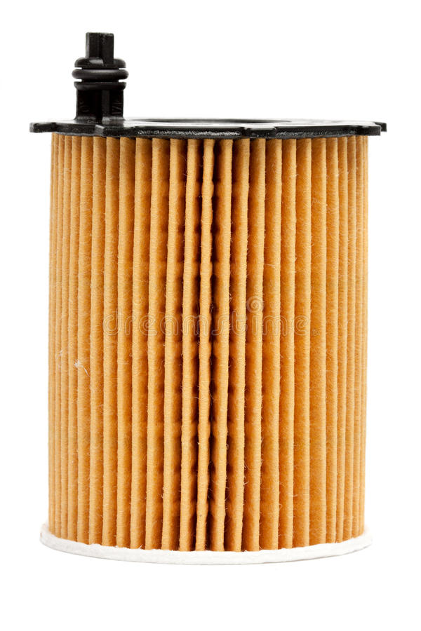 Filtres à huile photographie stock