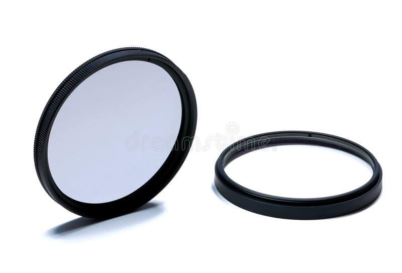 Filtres de lentille photographie stock