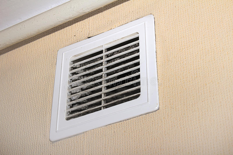 Filtres de ventilateur image stock