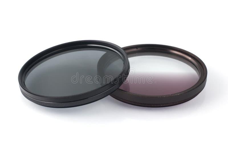 Filtres photographiques photo stock