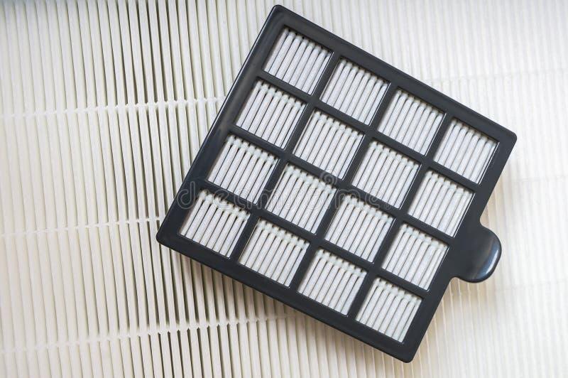 Filtri dal condizionamento d'aria di HVAC fotografie stock libere da diritti