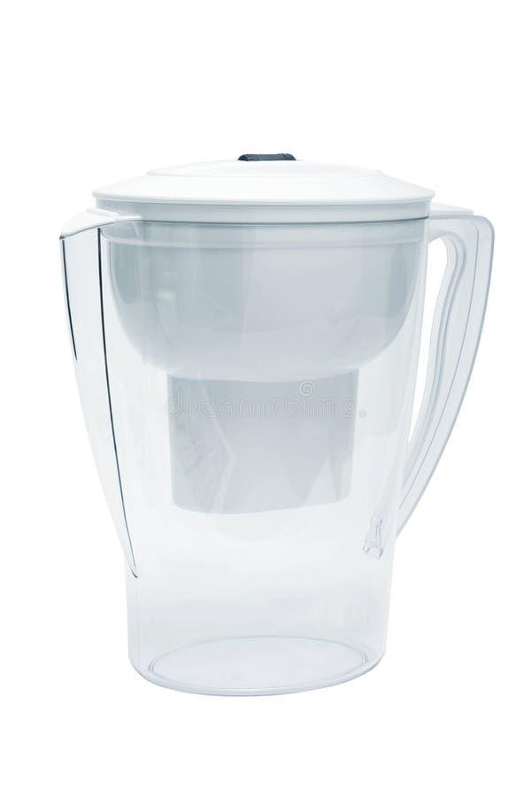 Filtro bianco per acqua fotografie stock