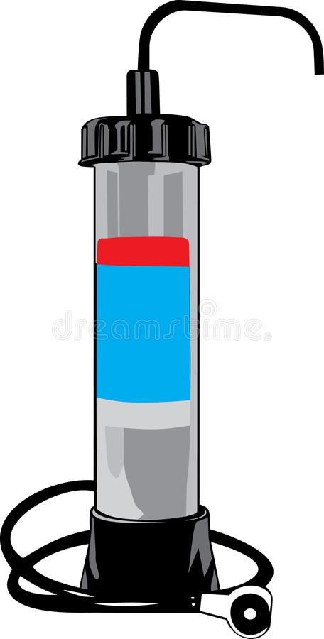 Filtro da acqua royalty illustrazione gratis