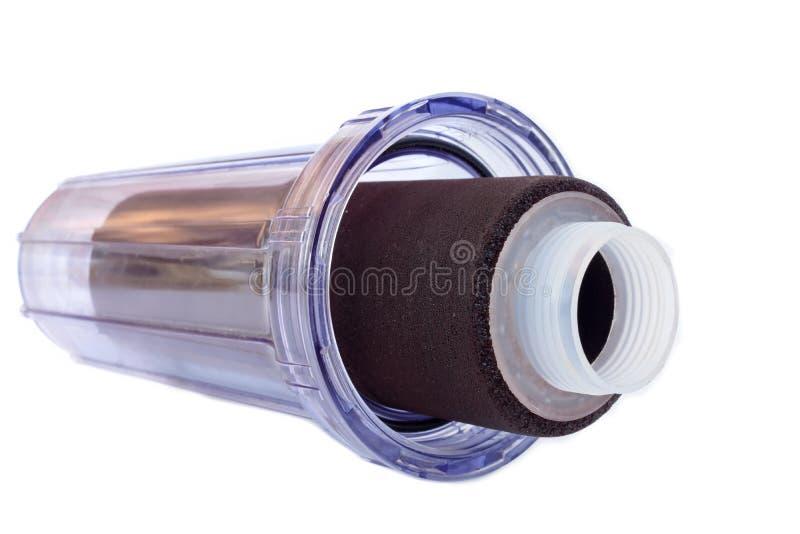 Filtro da acqua della microglobulina per i sistemi a acqua beventi domestici fotografia stock libera da diritti