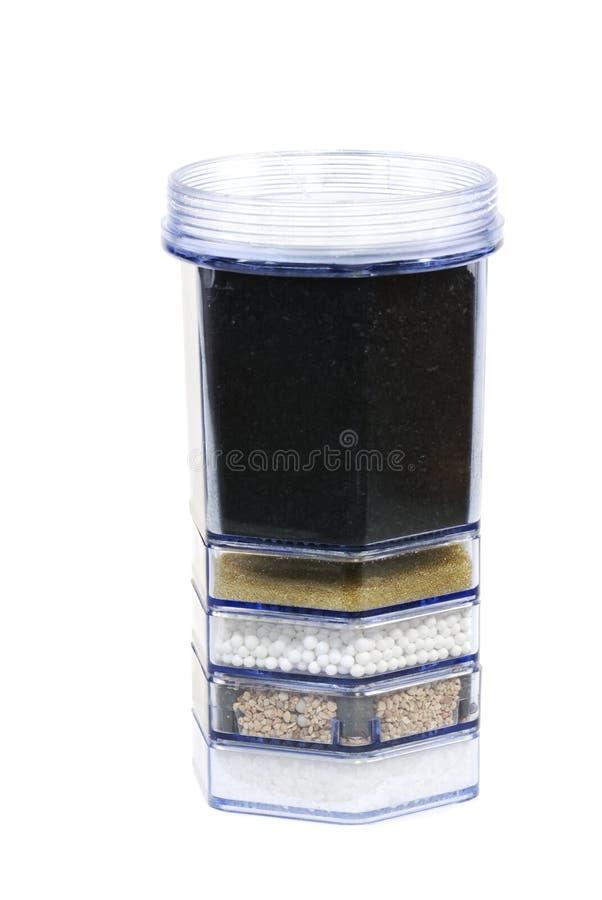 Filtro da purificação de água imagem de stock