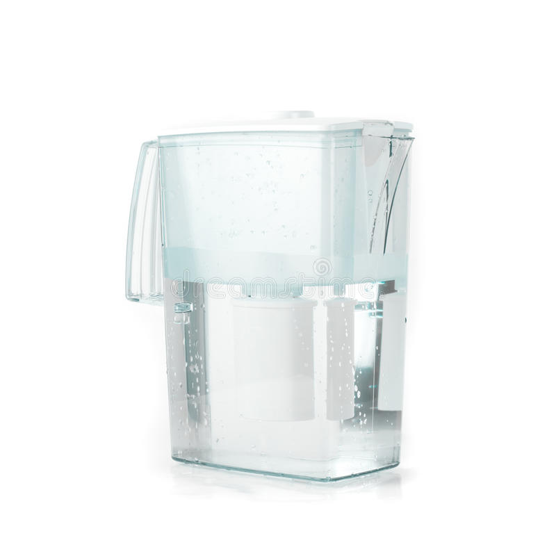 Filtro de água fotografia de stock royalty free