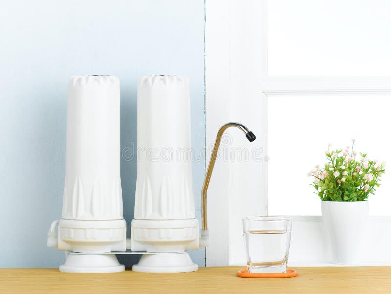 Filtro de água imagem de stock