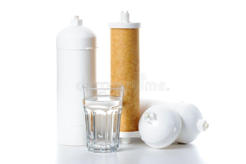 Filtro de água foto de stock