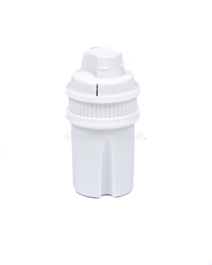 Filtro de água superior do carbono foto de stock