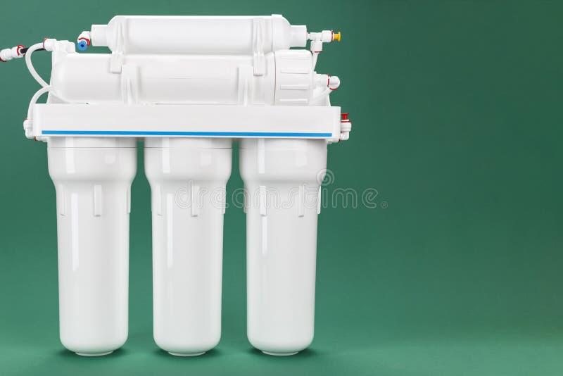 Filtro de agua de la ósmosis imagenes de archivo