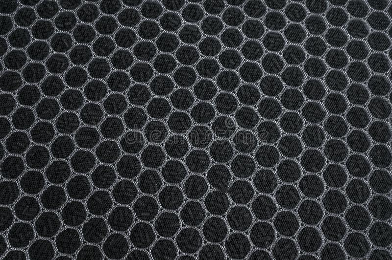 Filtro de aire del carbono para el sistema de la HVAC imagenes de archivo