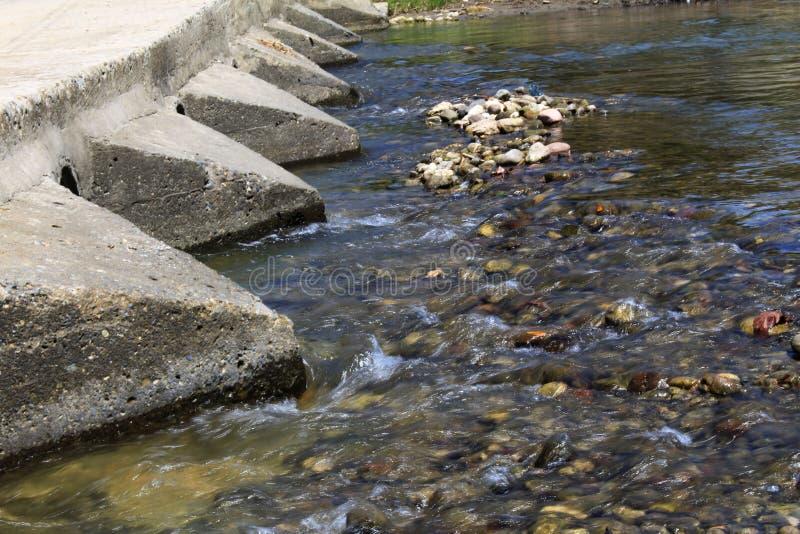 Filtro dell'acqua corrente fotografia stock