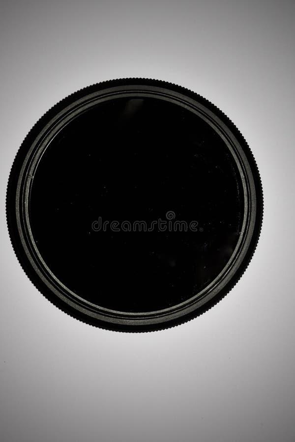 Filtro variable para uso con cámara digital para hacer fotos de exposición larga foto de archivo libre de regalías
