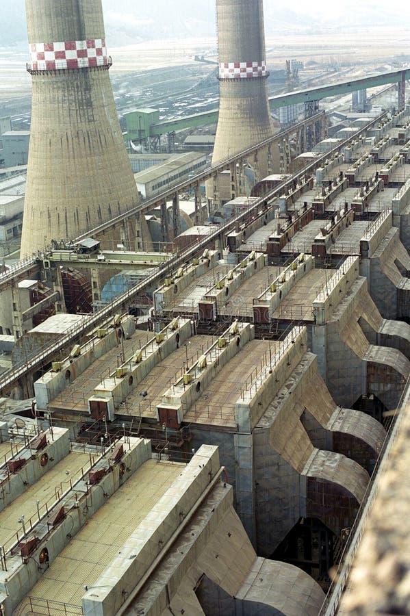 Filtros da central energética imagem de stock