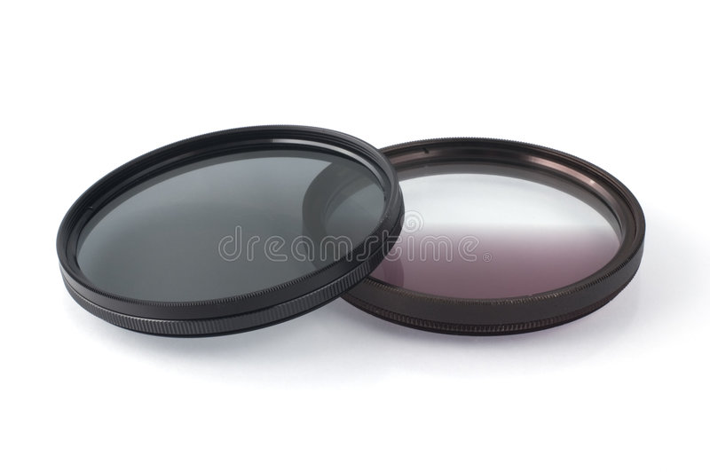 Filtros fotográficos foto de stock