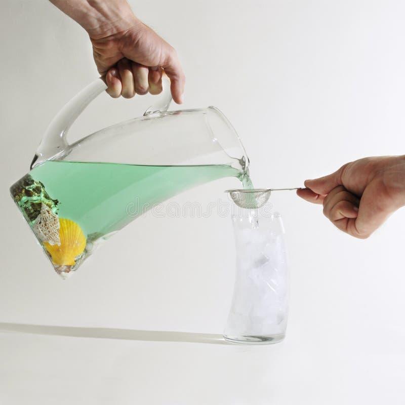 filtrowanie wody morskiej obraz stock