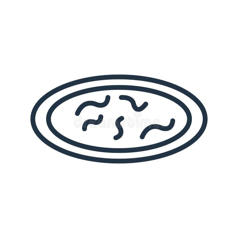 Filtrowy ikona wektor odizolowywający na białym tle, filtra znak ilustracji