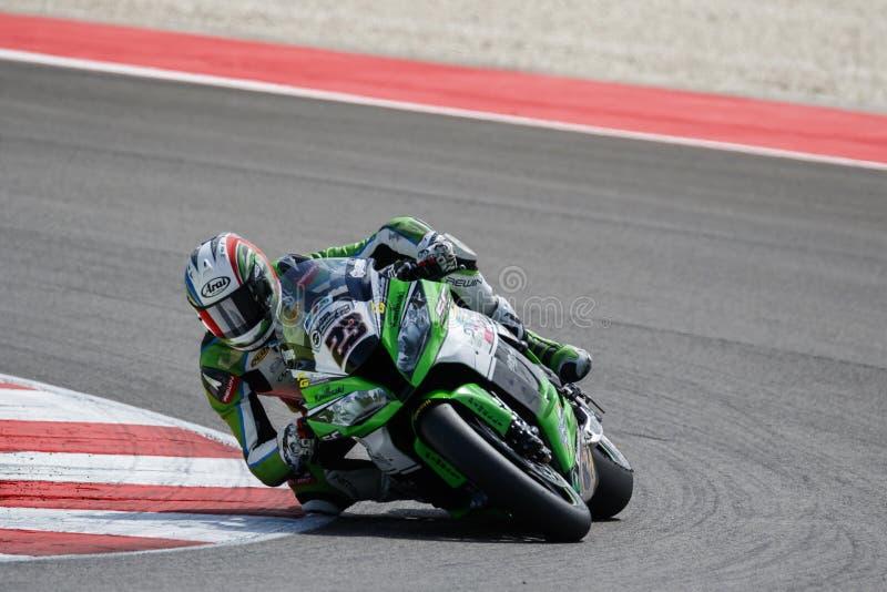 FIM φυλή 1 πρωταθλήματος κόσμος Superbike †« στοκ εικόνες με δικαίωμα ελεύθερης χρήσης