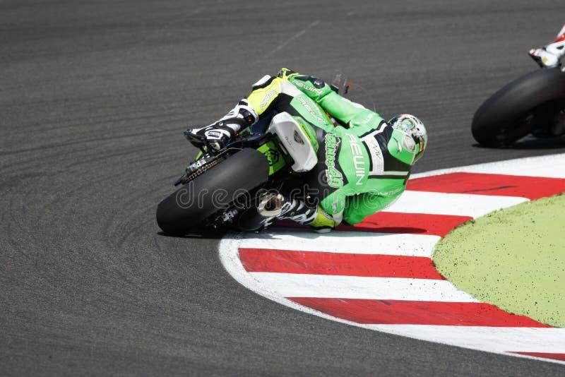 FIM φυλή 1 πρωταθλήματος κόσμος Superbike †« στοκ φωτογραφίες