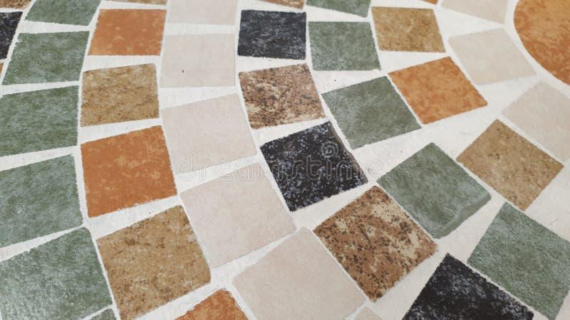 Fim acima da textura do fundo do mosaico imagens de stock