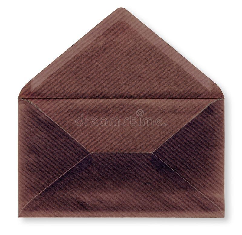 Fim-acima de um envelope. foto de stock