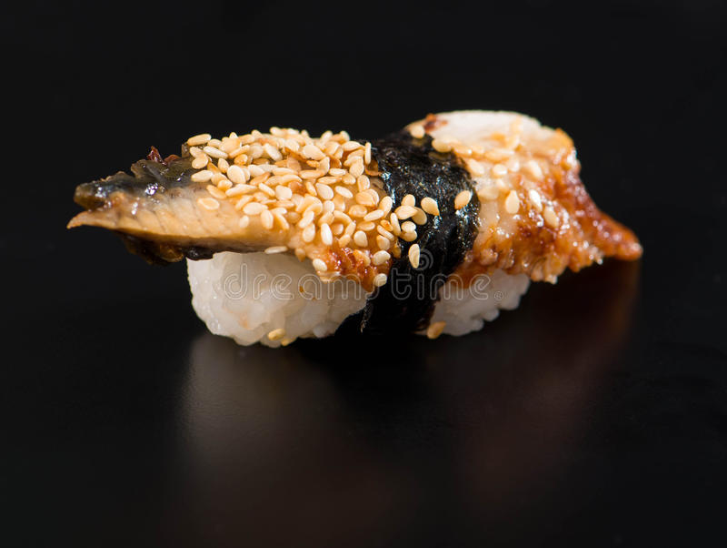 Fim-acima do sushi fotografia de stock royalty free